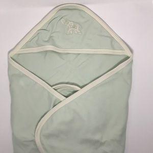 NWOT Pale Green Swaddle Blanket